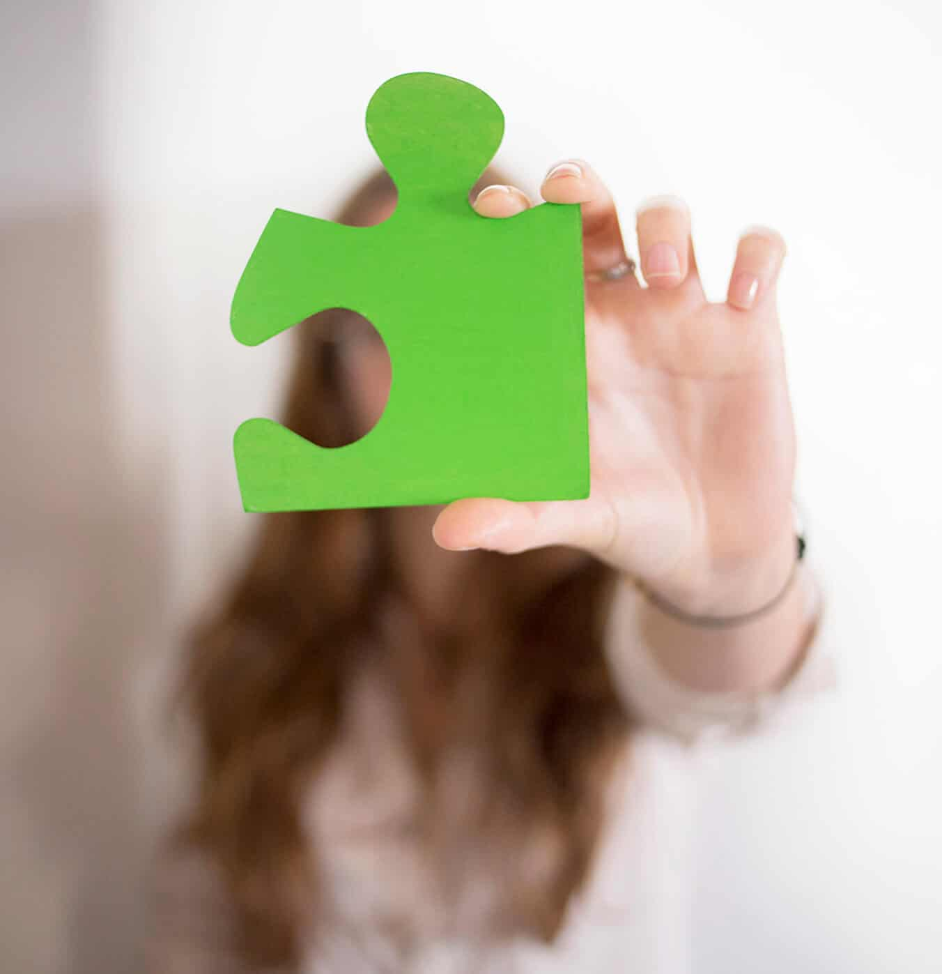 Agueda Felez puzzle verde