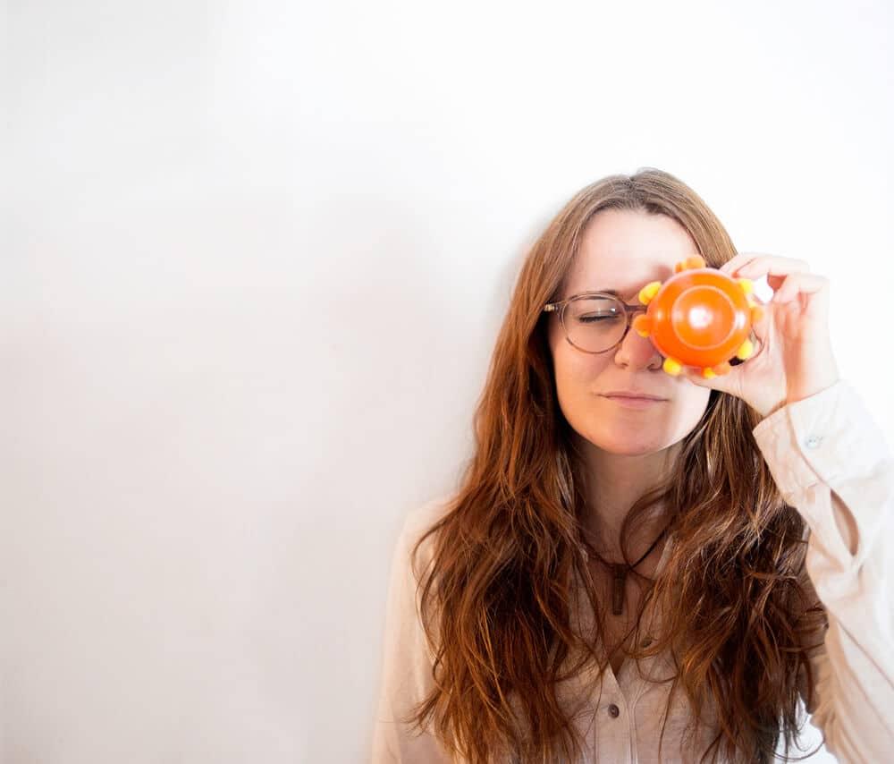 Retrato de Águeda Felez 02 - Arteterapeuta
